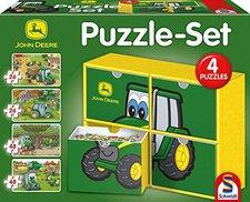 Schmidt Spiele Puzzle Set John Deere (2x26 & 2x48 Teile)