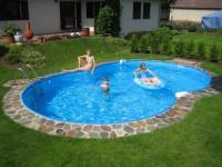 Future Pool Achtformbecken Family 770 x 500 x120 cm