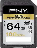 PNY SDXC Elite Performance 64GB Class 10 UHS-I (SD64G10ELIPER-EF)