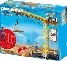 Playmobil Citylife Großer Baukran mit IR-Fernsteuerung (5466)