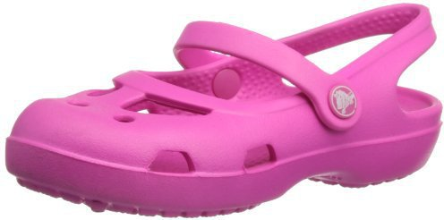 Crocs Shayna Girls neon magenta