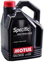 Motul Specific 50601 50600 50300 0W30 (5 l)