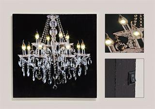 led wandbilder im preisvergleich auf g nstig. Black Bedroom Furniture Sets. Home Design Ideas