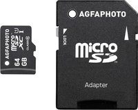 AgfaPhoto microSDXC Mobile High Speed 64GB Class 10 (10582)