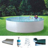 my pool Standard Rundformbecken 460 x 110 cm Set (5-tlg.)