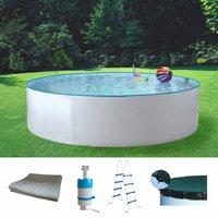 my pool Standard Rundformbecken 400 x 110 cm Set (10-tlg.)