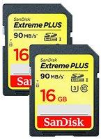SanDisk Extreme SDHC 16GB Class 10 UHS-I (SDSDXS2-016G-X46)