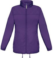 B&C Collection Sirocco Jacket Women Purple