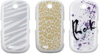 Samsung Handy-Cover weiß (Samsung Corby S3650)