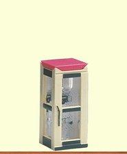 BRAWA Telefonzelle Telekom geschlossen beleuchtet (4564)