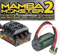 Castle Creations Mamba Monster 2 2200kV Combo (010-0108-01)