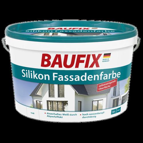 baufix silikon fassadenfarbe wei 10 l preisvergleich. Black Bedroom Furniture Sets. Home Design Ideas