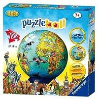 Ravensburger Globus (englisch, Puzzleball, 108 Teile)