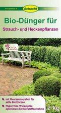 Schacht Bio Dünger für Strauch- und Heckenpflanzen 2 kg