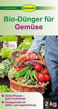 Schacht Bio Dünger für Gemüse 2 kg