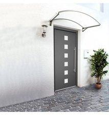 RORO Aluminium-Haustür Italien, weiß, 1100 x 2100 mm