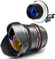 Walimex pro 8 mm f3.5 Fisheye II [Minolta/Sony]