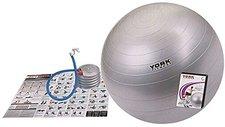 York Fitness Anti-Burst Gymnastikball mit DVD 65cm