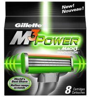 Gillette M3Power Systemklingen (8er)