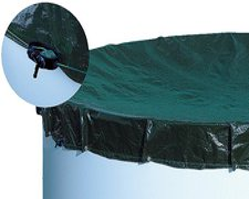 my pool Abdeckplane 5,25 x 3,2 m für Ovalformpool