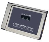 Cisco Systems Aironet 352 PCMCIA Adapter