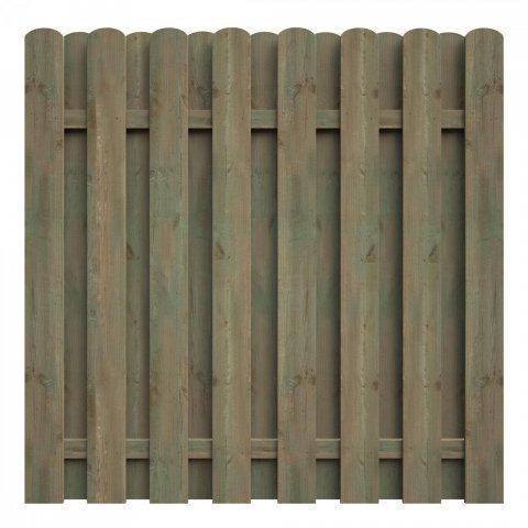 delta gartenholz bohlenzaun bxh 180 x 180 cm preisvergleich ab 49 39. Black Bedroom Furniture Sets. Home Design Ideas