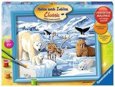 Ravensburger Malen nach Zahlen Tiere der Arktis