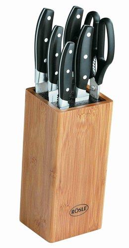 r sle messerblock cuisine bambus 7 tlg 13050 online bestellen. Black Bedroom Furniture Sets. Home Design Ideas