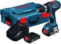 Bosch GSR 18 V-LI Professional 2 x 1,5 Ah + L-Boxx