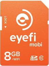 Eye-Fi Mobi SDHC 8GB + Wifi (EYE-FI MOBI 8GB)