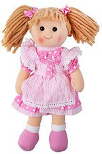 Bigjigs Toys Stoffpuppe 35 cm