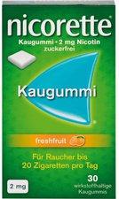 Pharma Gerke Nicorette 2 mg Freshfruit Kaugummi (30 Stk.)