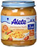 Alete Kleine Entdecker - Orientalisches Risotto mit Huhn (250 g)