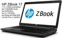 Hewlett Packard HP ZBook 17-Tiger II