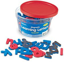 Learning Resources MAGNETIC FOAM LETTERS 52/PK