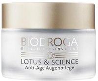 Biodroga Lotus & Science Anti-Age Augenpflege (15 ml)