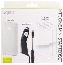 XQISIT Starter Set für HTC One mini