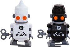 Suck UK Roboter Salz- & Pfefferstreuer