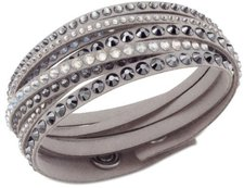 Swarovski Slake Pearl Light Gray Wickelarmband (5021033)