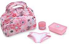 Melissa & Doug Doll Nappy Bag Set