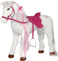 Happy People Barbie Plüschpferd Majesty mit Sound 78 cm