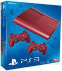 Sony PlayStation 3 (PS3) Super slim 12GB (rot)