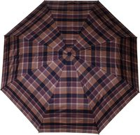 Knirps 864 Minimatic Light brown olive check