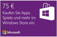 Microsoft Windows Store 75 EUR Guthabenkarte