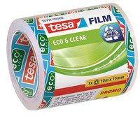 Tesa Eco + Clear 3 Rollen 10m x 15mm