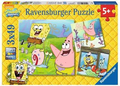 Ravensburger 09378 49 Teile Puzzle: Spongebob und Freunde