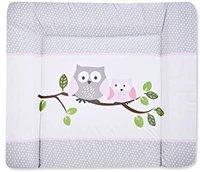 Zöllner Wickelauflage Softy Folie Kleine Eulen rosa 75 x 85