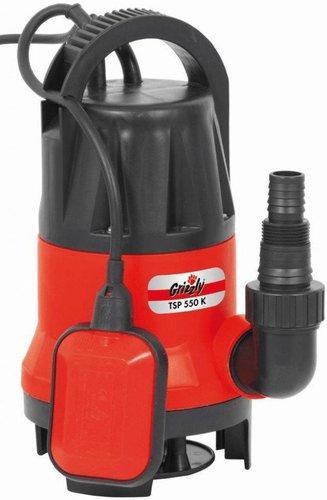 Grizzly Schmutzwasser-Tauchpumpe TSP 550 K
