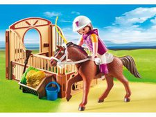 Playmobil Country - Shagya Araber mit Pferdebox (5518)