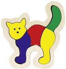 goki Einlegepuzzle Katze